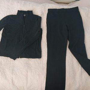 Gap sweatpants and stretch jacket